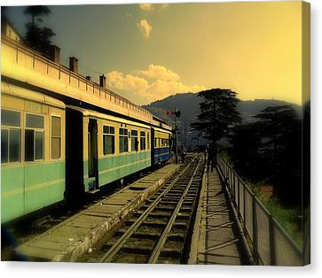 Shimla Railway Station Canvas Print