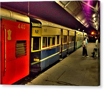 Shimla Toy Train Canvas Print by Salman Ravish