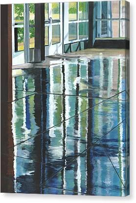 Shimmer Canvas Print by Alika Kumar