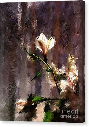 Shimmering Bouquet Canvas Print