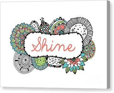 Shine Part 2 Canvas Print by Susan Claire