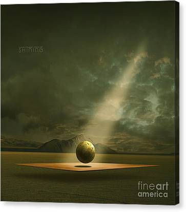 Shining Canvas Print by Franziskus Pfleghart