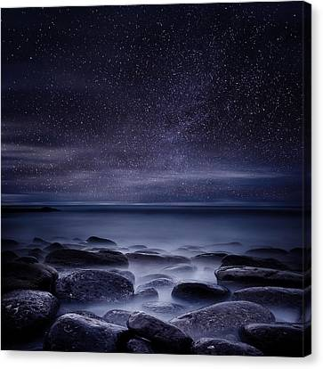Shining In Darkness Canvas Print by Jorge Maia