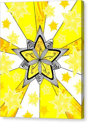 Shining Star Canvas Print by E B Schmidt