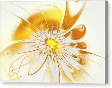Canvas Print - Shining Yellow Flower by Anastasiya Malakhova