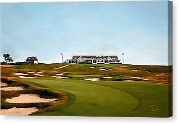 Shinnecock Hills Golf Club Canvas Print by Scott Melby