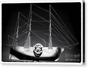 Ship Canvas Print by John Rizzuto