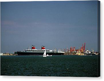 Ship Of State 2 Canvas Print by John Harding