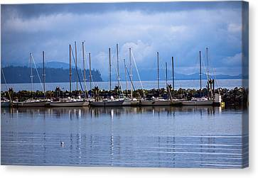 Canvas Print featuring the photograph Ship To Shore by Jordan Blackstone