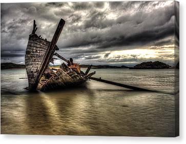 Ship Wreck Canvas Print by Craig Brown