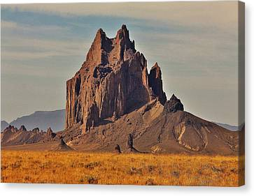 Shiprock Canvas Print by Benjamin Yeager