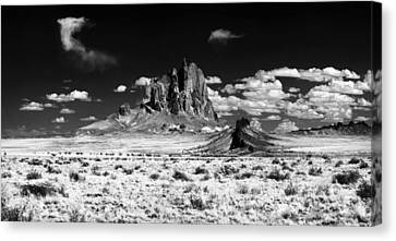 Shiprock Dyke Close-up Canvas Print