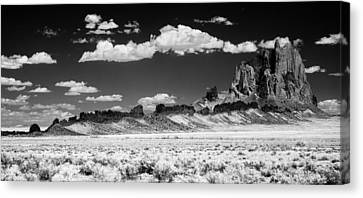 Shiprock Dyke Long View Canvas Print