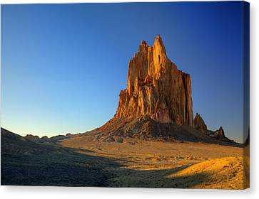 Shiprock Sunset Canvas Print