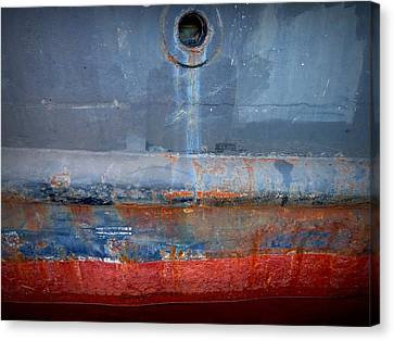 Shipside Abstract II Canvas Print by Patricia Strand