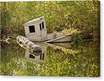 Shipwreck Silver Springs Florida Canvas Print by Christine Till