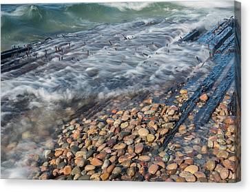 Shipwreck Waves Canvas Print