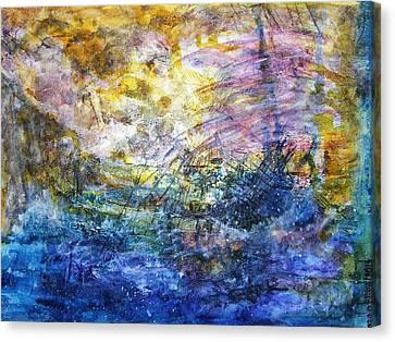 Shipwrecked Canvas Print
