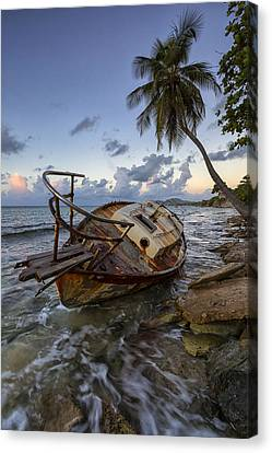 Shipwrecked Canvas Print by Patrick Downey