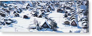 Shirakawagou Gifu Japan Canvas Print by Panoramic Images
