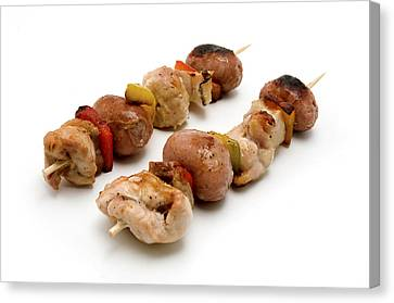 Shish Kebab Canvas Print by Fabrizio Troiani