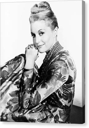 1960s Hairstyles Canvas Print - Shock Corridor, Constance Towers, 1963 by Everett
