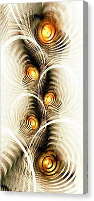Shock Waves Canvas Print