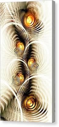 Shock Canvas Print - Shock Waves by Anastasiya Malakhova
