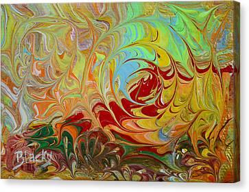 Shockwave Canvas Print by Donna Blackhall