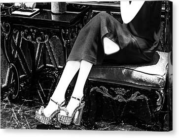 Shoe Art Canvas Print