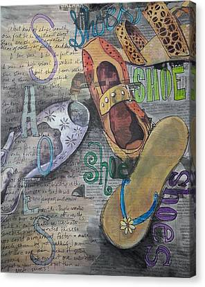 Shoe Obsession Canvas Print