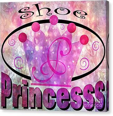 Shoe Princess Canvas Print by Daryl Macintyre