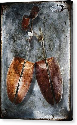 Shoe Trees Canvas Print by Skip Nall