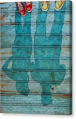 Shoegazers Canvas Print