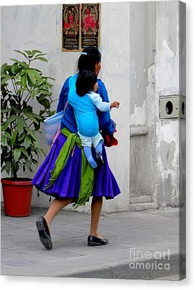 Missing Child Canvas Print - Shoeless Joe by Al Bourassa