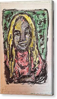 Shoeless Joe Canvas Print by Patrick Humphreys