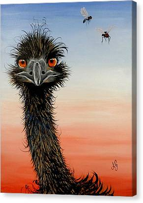 Shoo Flies Canvas Print