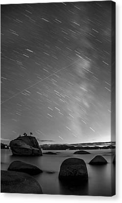 Shooting Stars Canvas Print by Brad Scott