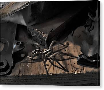 Canvas Print featuring the digital art Tombstone Shadows by Robert Rhoads