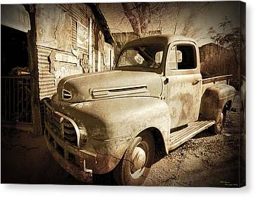Shop Truck Canvas Print