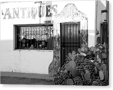 Canvas Print featuring the photograph Shoppin' Las Cruces by Jim Snyder