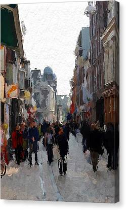 Shopping Time  Canvas Print by Steve K