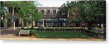 Shops At Merchants Square, Duke Canvas Print by Panoramic Images