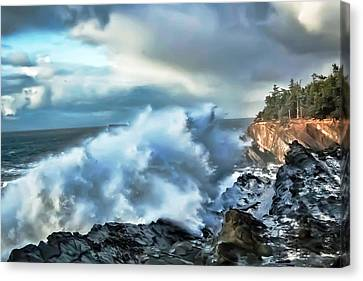 Canvas Print - Shore Acres 15 by Kenneth Haley