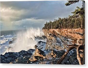 Canvas Print - Shore Acres 18 by Kenneth Haley