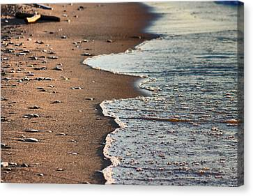 Shore Canvas Print by Bruce Patrick Smith