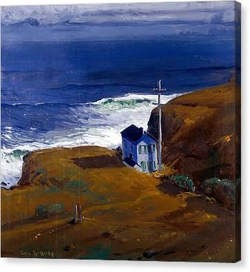 Shore House Canvas Print