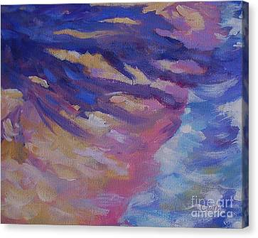Shoreline 20x16 Canvas Print by John Clark