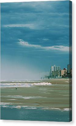 Shoreline Daytona Canvas Print by Paulette Maffucci