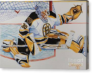 Short Side Save Canvas Print by Alan Salvaggio